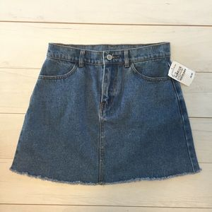 Brandy Melville Denim mini Skirt NWT Sz Small